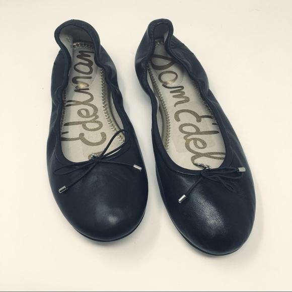 e3c3be2e8 Sam Edelman Shoes | Felicia Ballet Flats Sz 75 Black | Poshmark